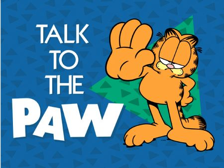 garfield talk to the hand
