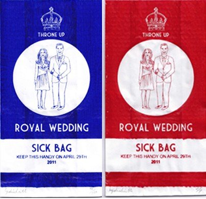 The Royal Wedding makes me sick!